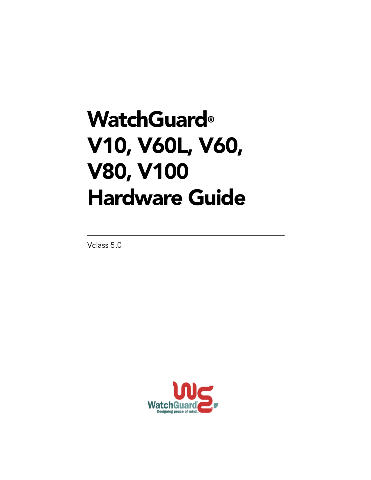 pdf for Watchguard Other Firebox V10 Firewall manual