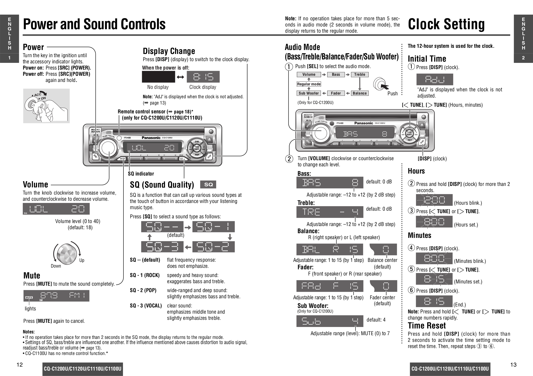 Panasonic Cq C1120u Wiring Diagram Manual E Books Rx100u Wire Schematic