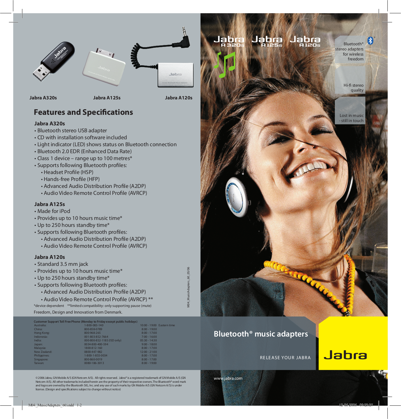 pdf for Jabra Other A120s Bluetooth Adapter manual