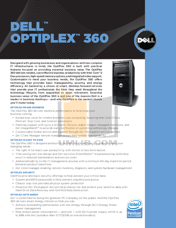 Dell optiplex 390 manual Pdf