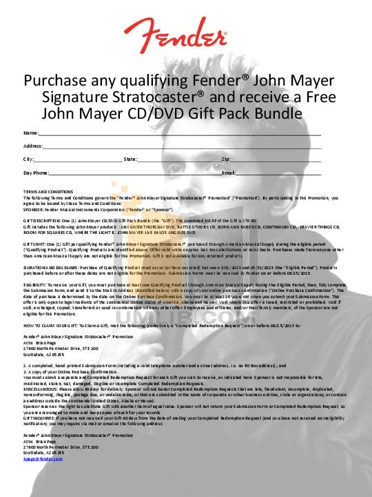 John Mayer Continuum Pdf