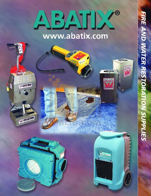 pdf for Atrix Vacuum HCVAC 230V manual