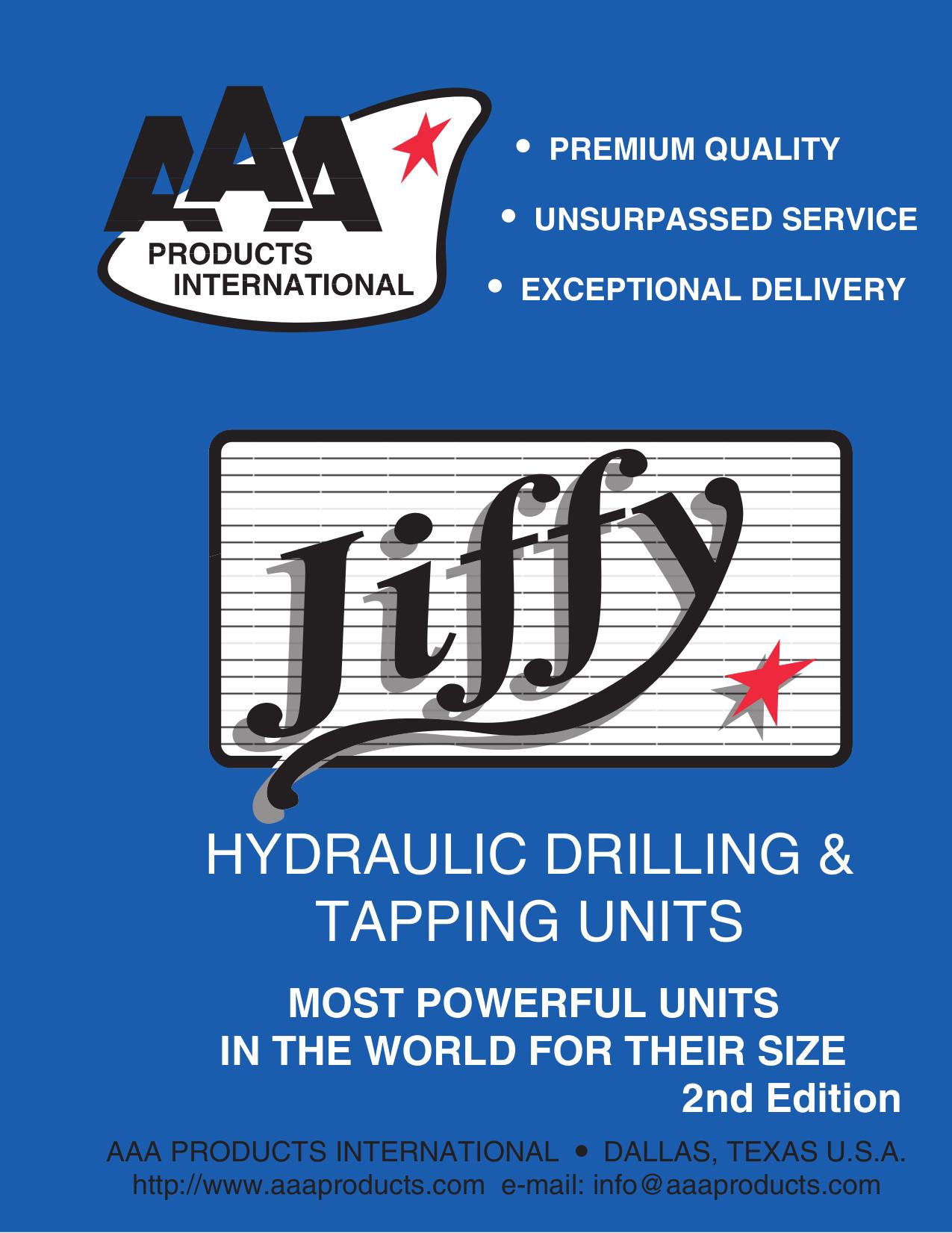 pdf for Jiffy Vacuum J-4000H manual