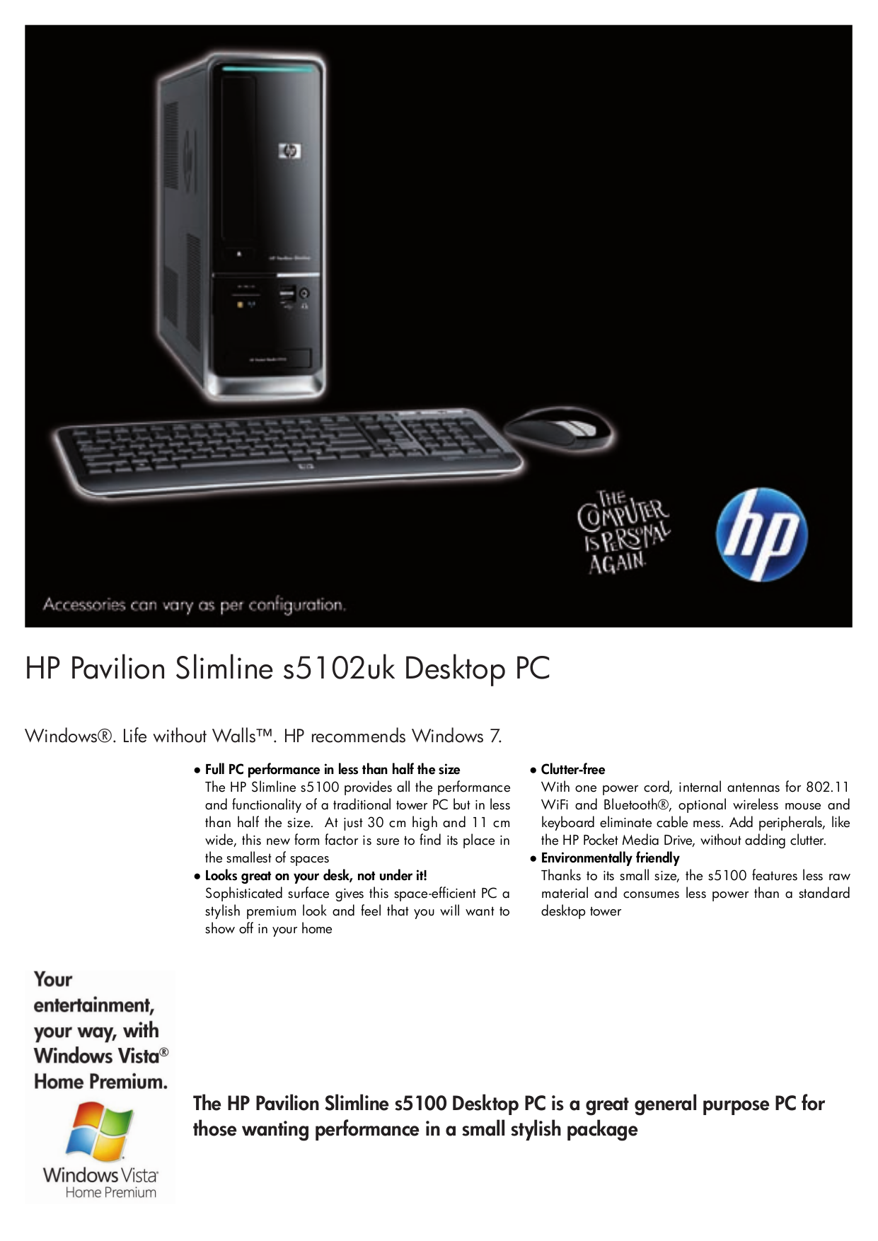 Hp pavilion Xt856 Manual