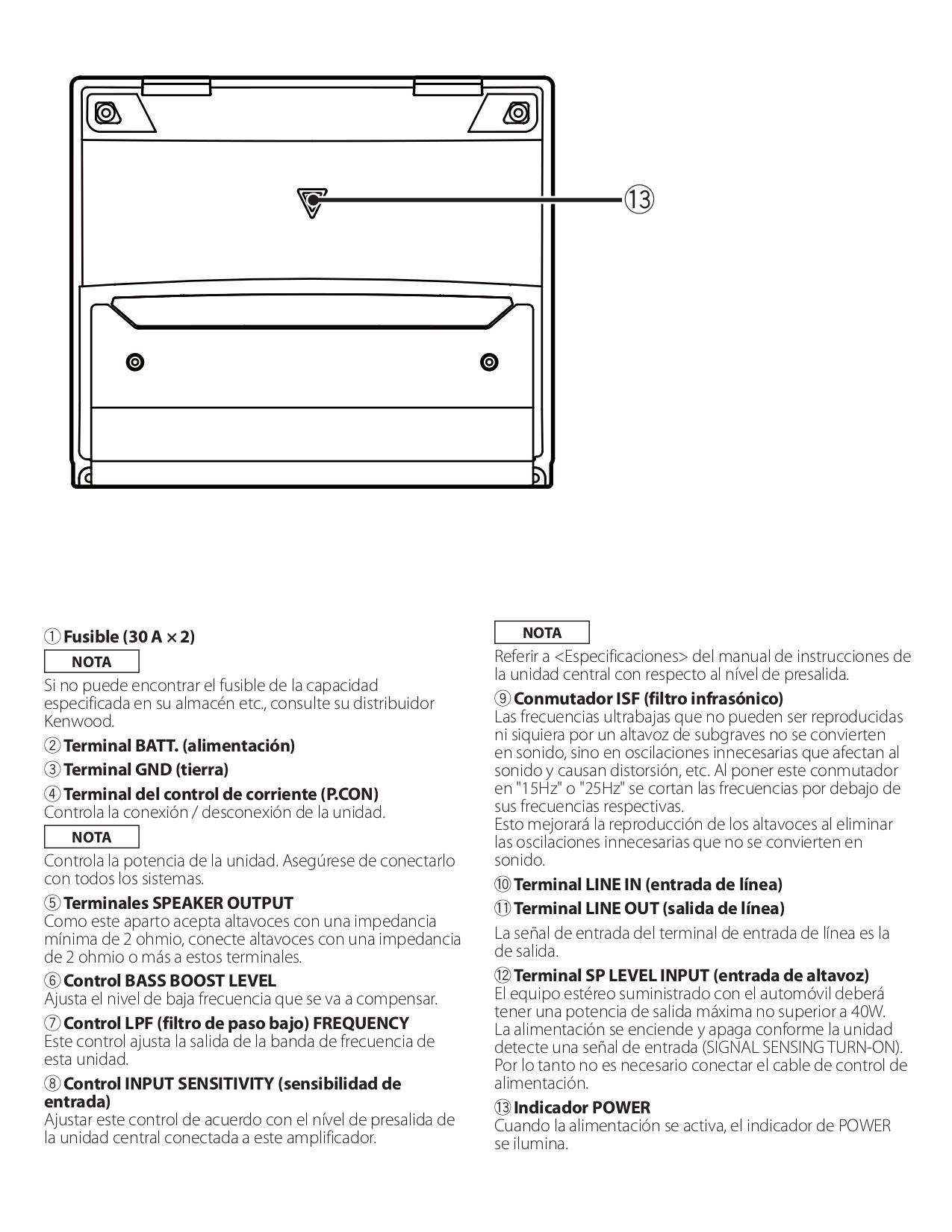 Kac 846 Manual Kenwood Amp Kac Od Wiring Diagram on