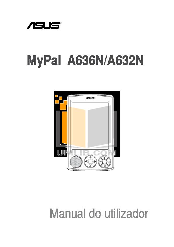 pdf for Asus PDA MyPal A632N manual