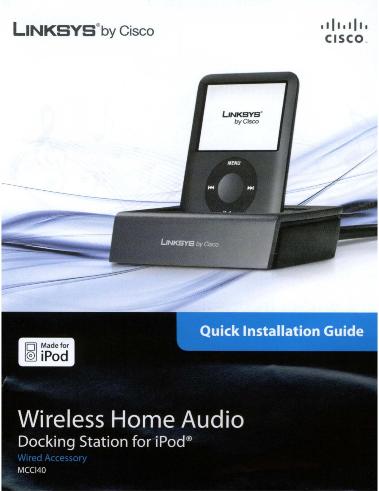 pdf for Linksys Remote Control DMRW1000 manual