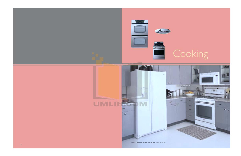 pdf for Amana Oven AEW4630DD manual