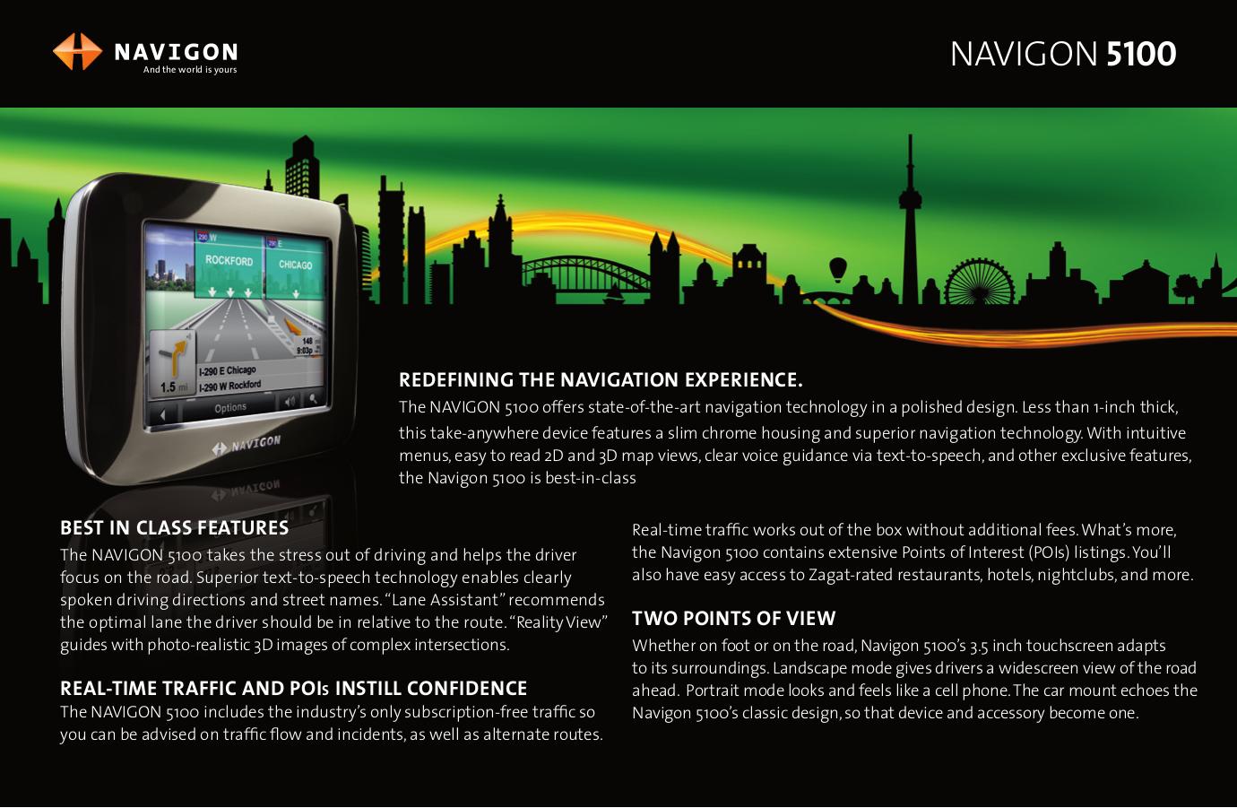 pdf for Navigon GPS 2000S manual