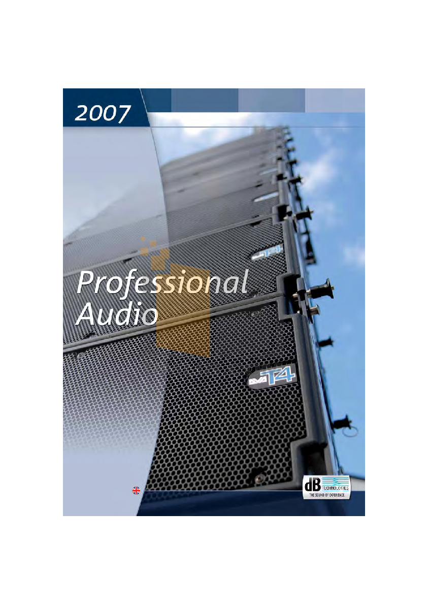pdf for dB Amp AA900 manual