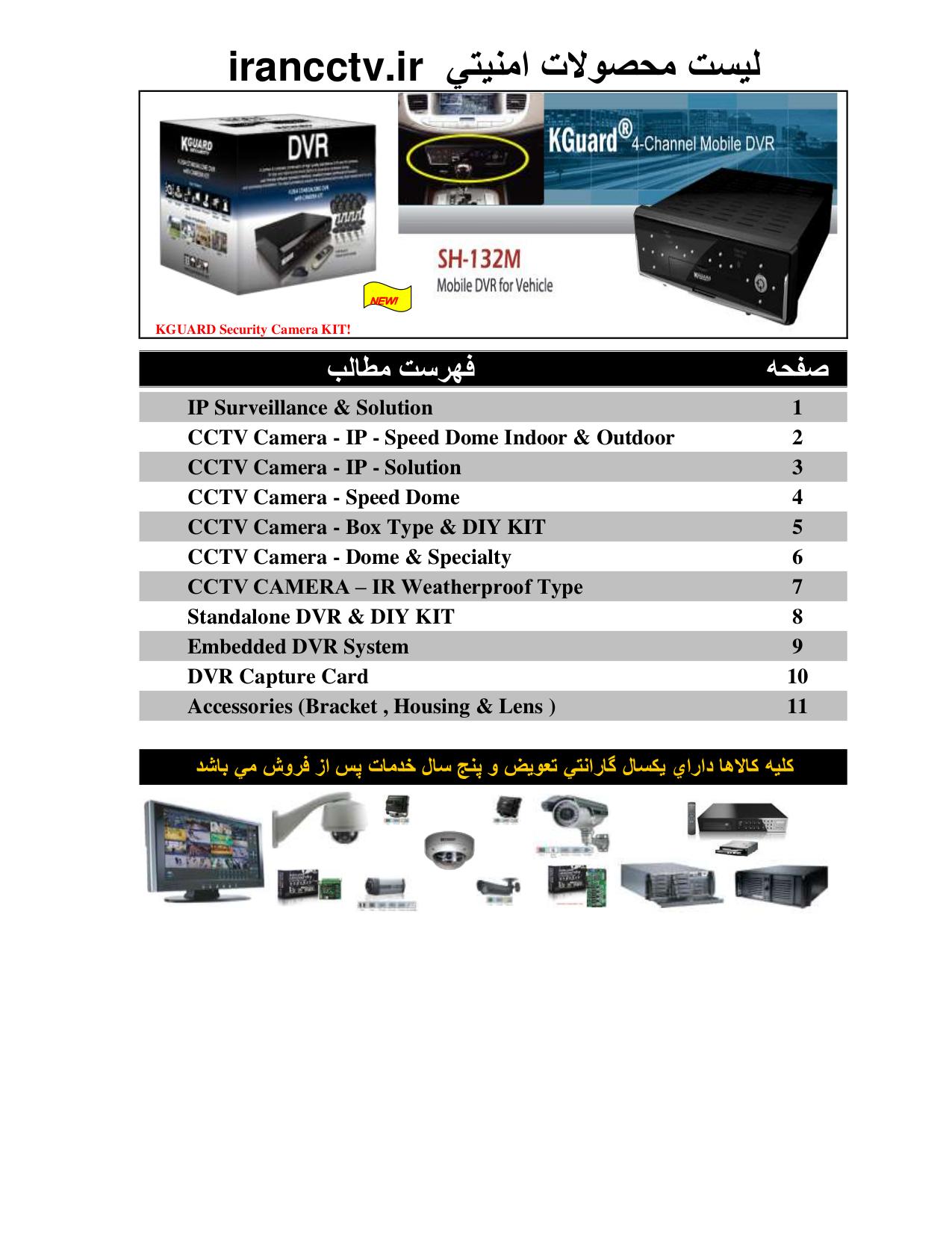 Kguard Security Camera CSN-3522-3 pdf page preview
