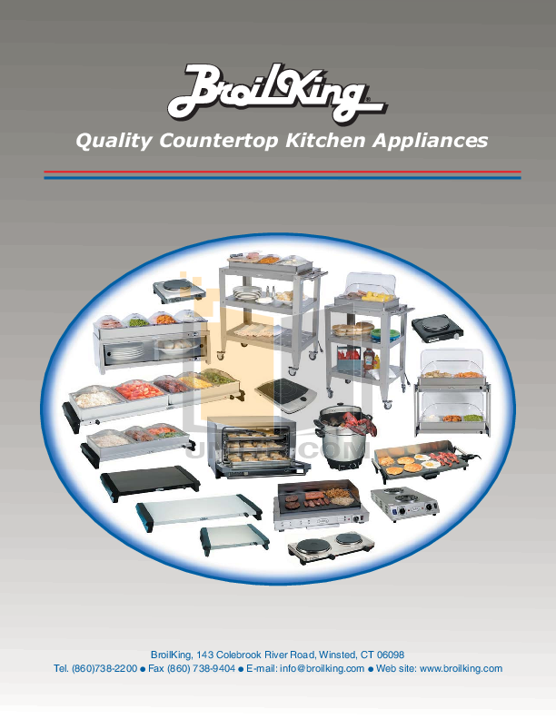 pdf for Cadco Other CMLB-CSLP Buffet Servers manual