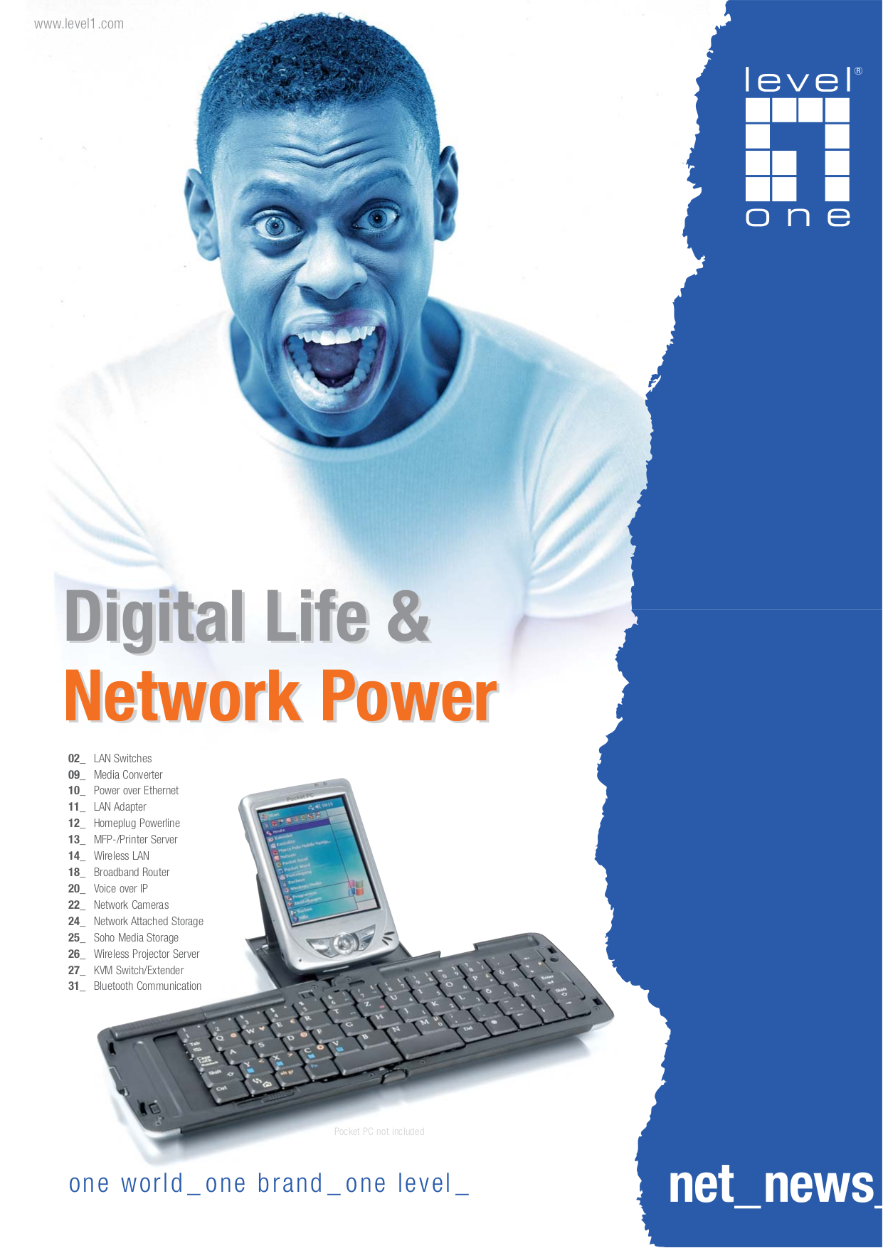 pdf for LevelOne Wireless Router NetCon WBR-5400 manual