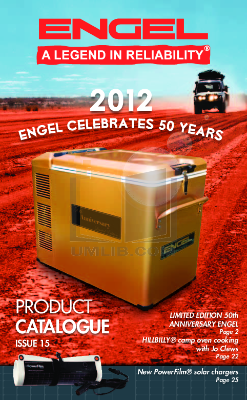 pdf for Engel Freezer SB47F manual