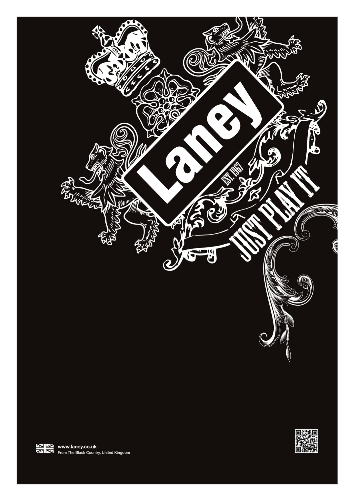 pdf for Laney Amp CUB12R manual