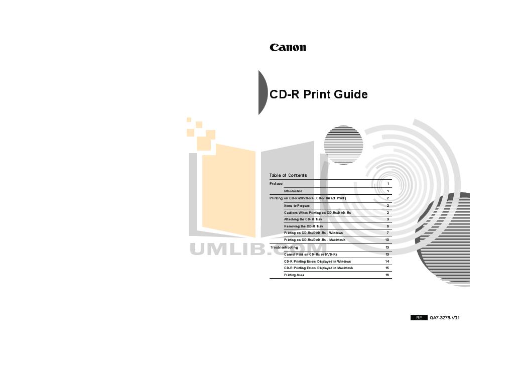 pdf for Canon Printer PIXMA iP4820 manual