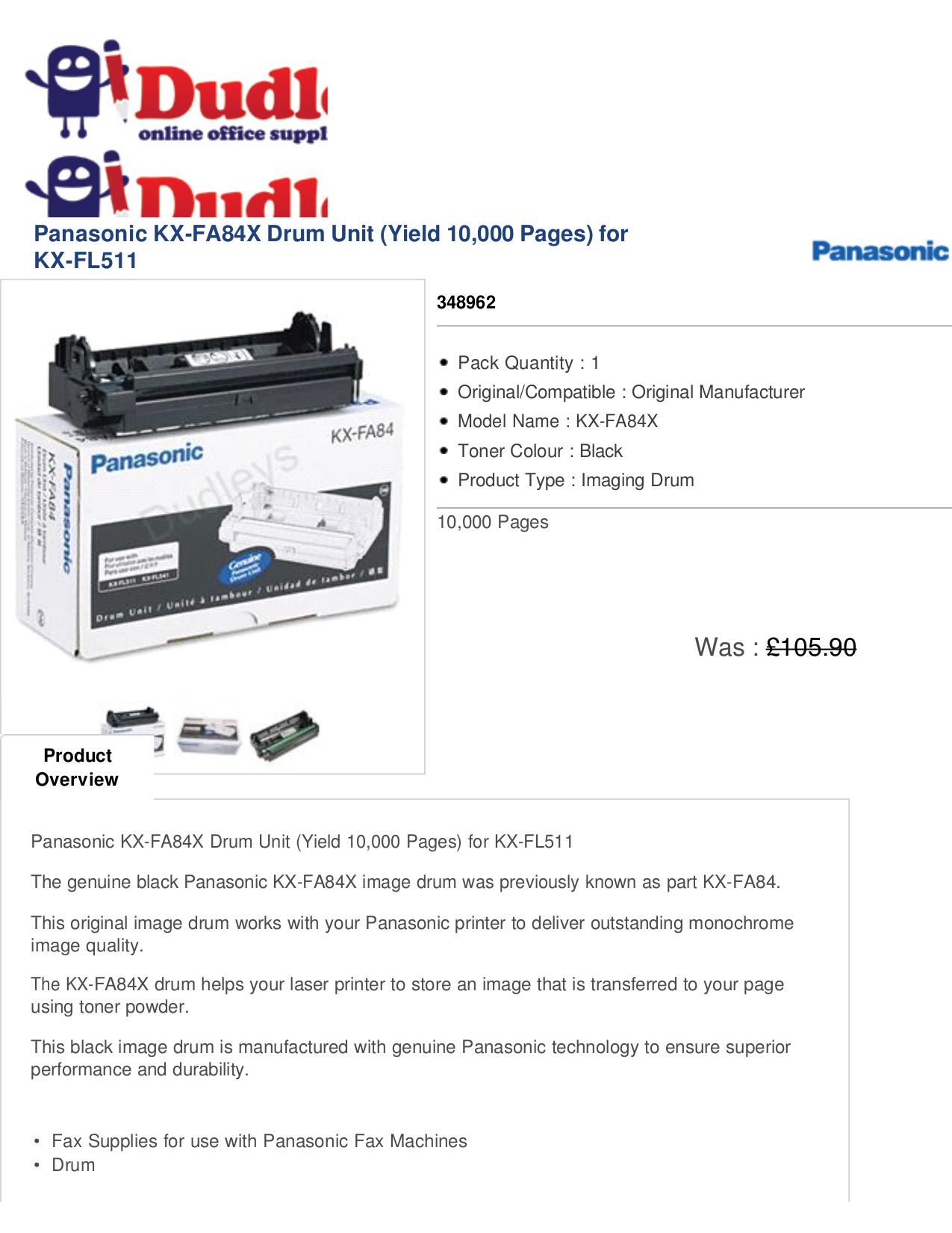 Panasonic Kx-fl511 Manual Ebook