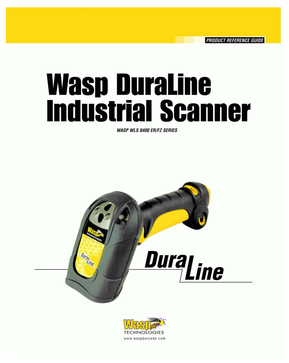 pdf for Wasp Scanner WLS8400FZ manual