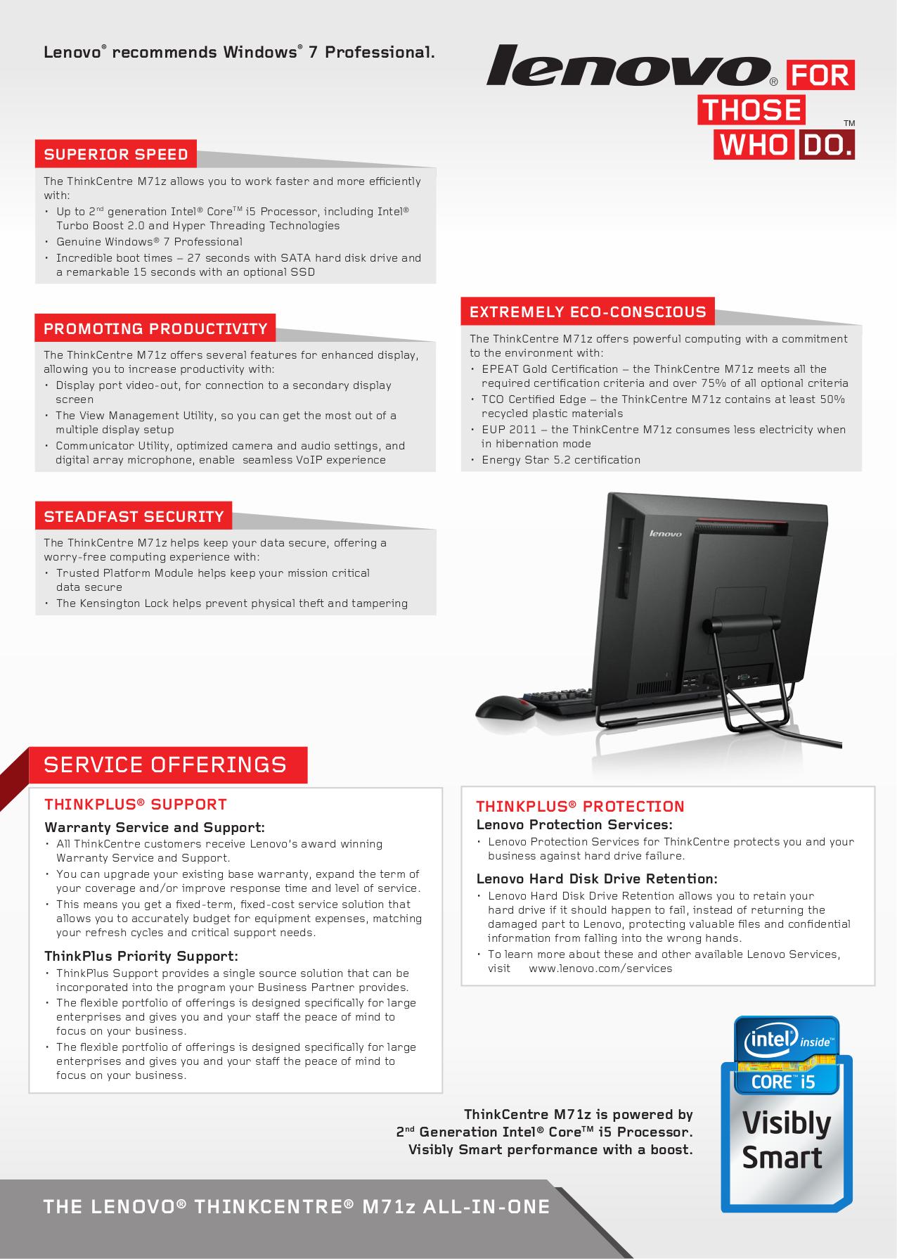 Lenovo Keyboard 51J0155 pdf page preview