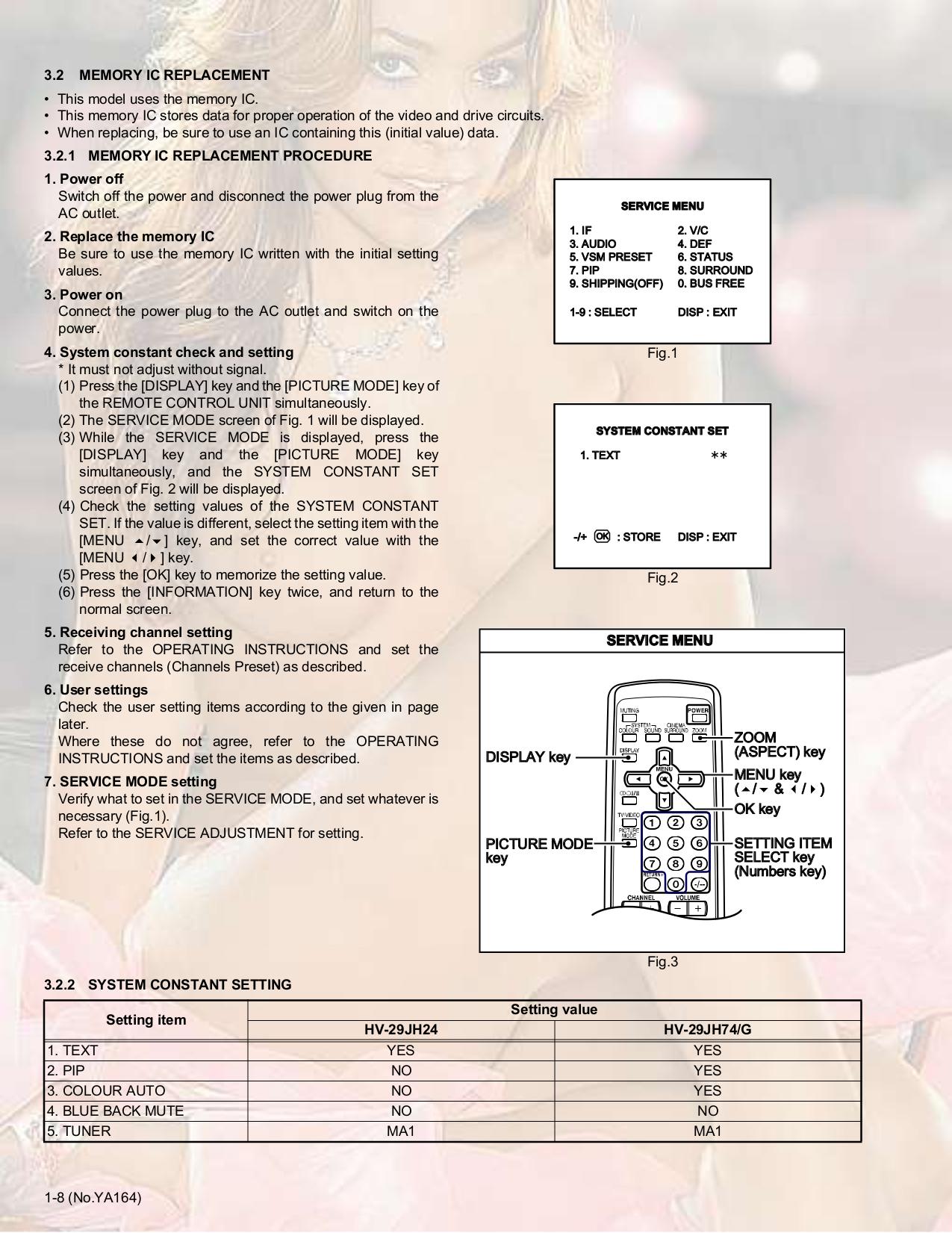 JVC TV HV-29JH24 pdf page preview