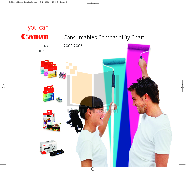pdf for Canon Printer SELPHY DS810 manual