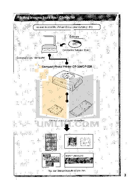 Canon Printer CP-330 pdf page preview