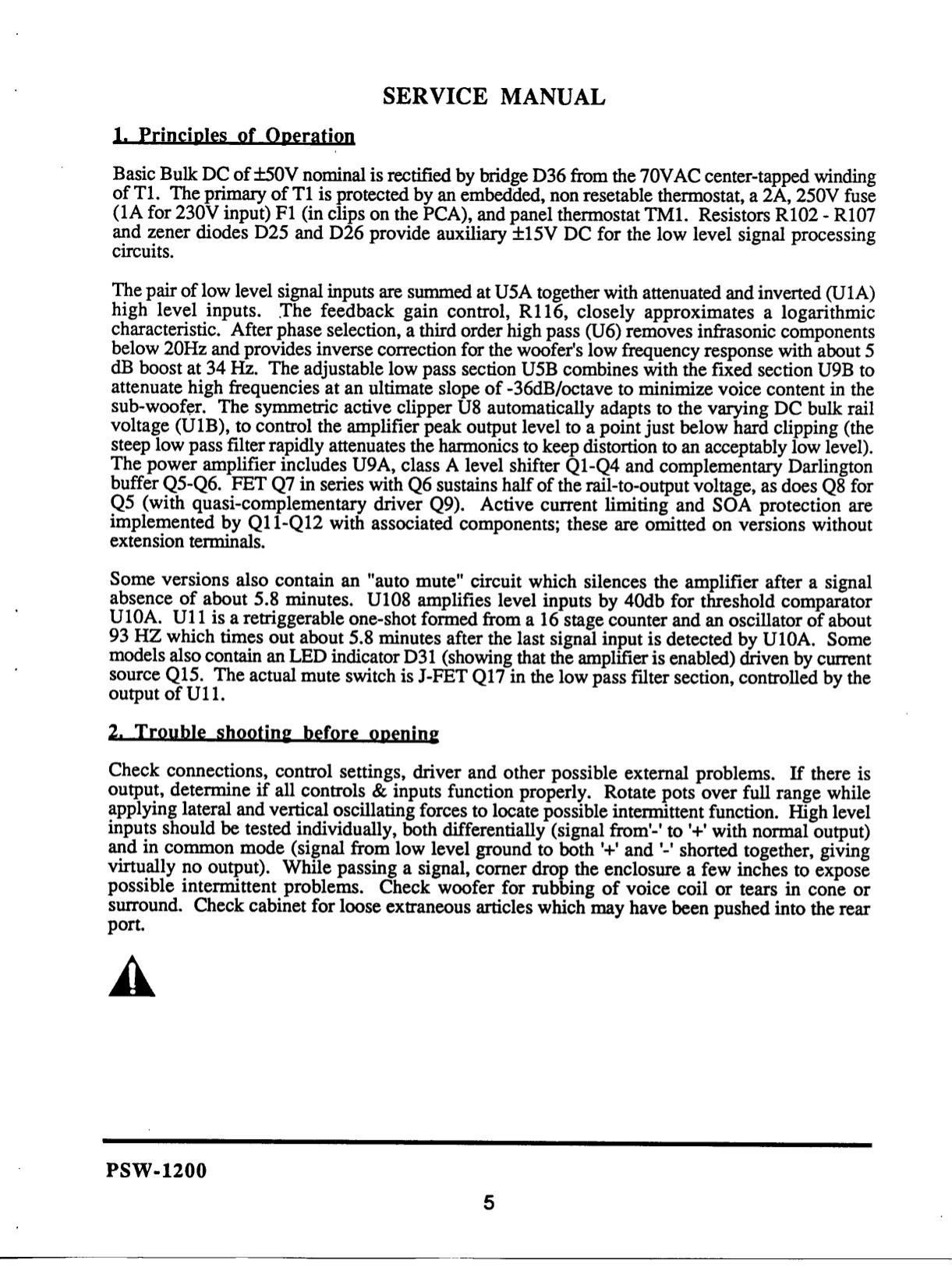 Jbl 1200 1 manual Jbl Amp Bp Wiring Diagram on