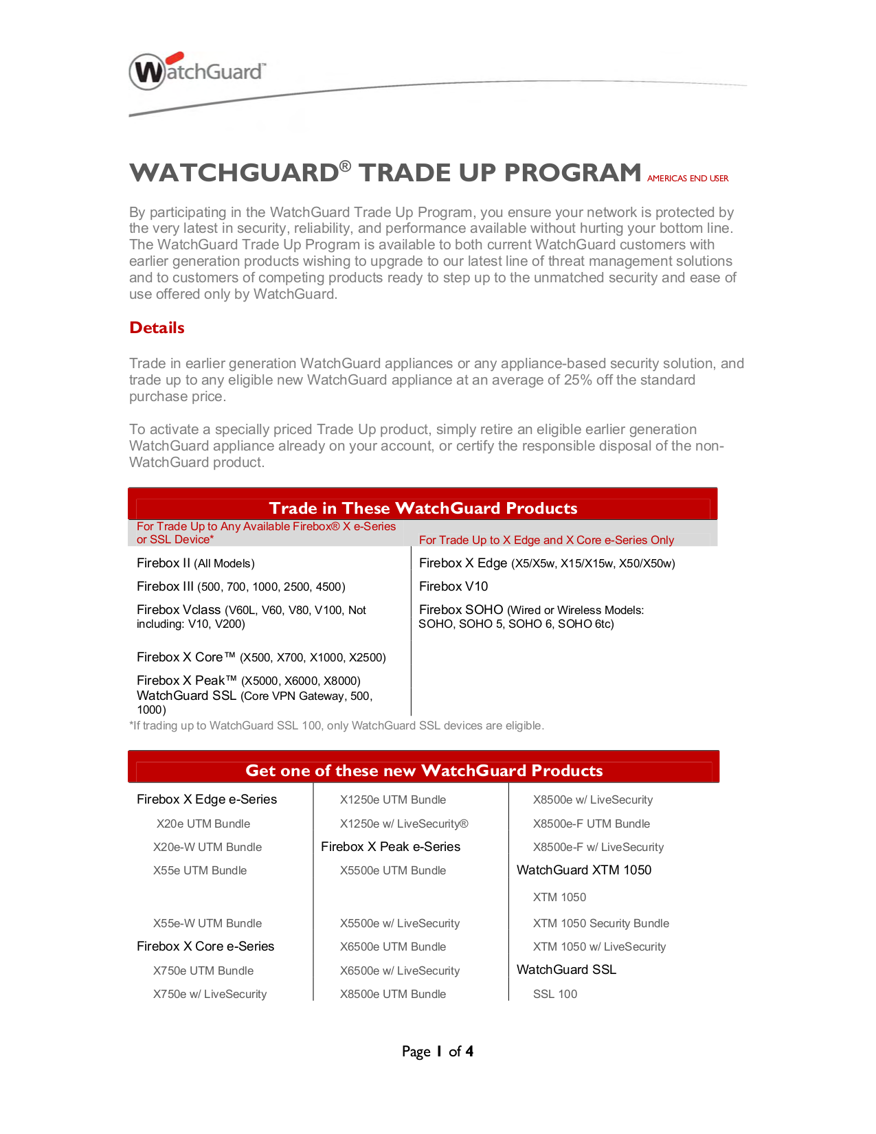 pdf for Watchguard Other SSL 1000 Gateway manual