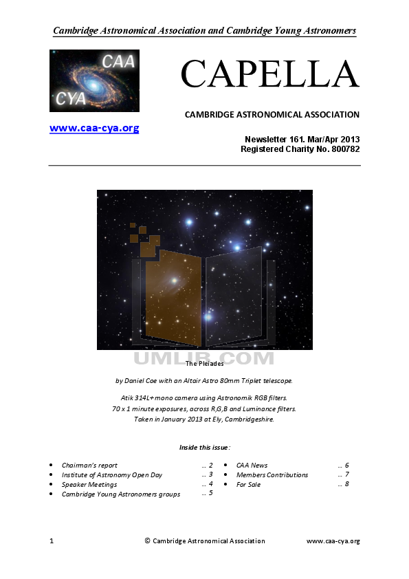 pdf for Celestron Other FirstScope 21086 Refractor manual