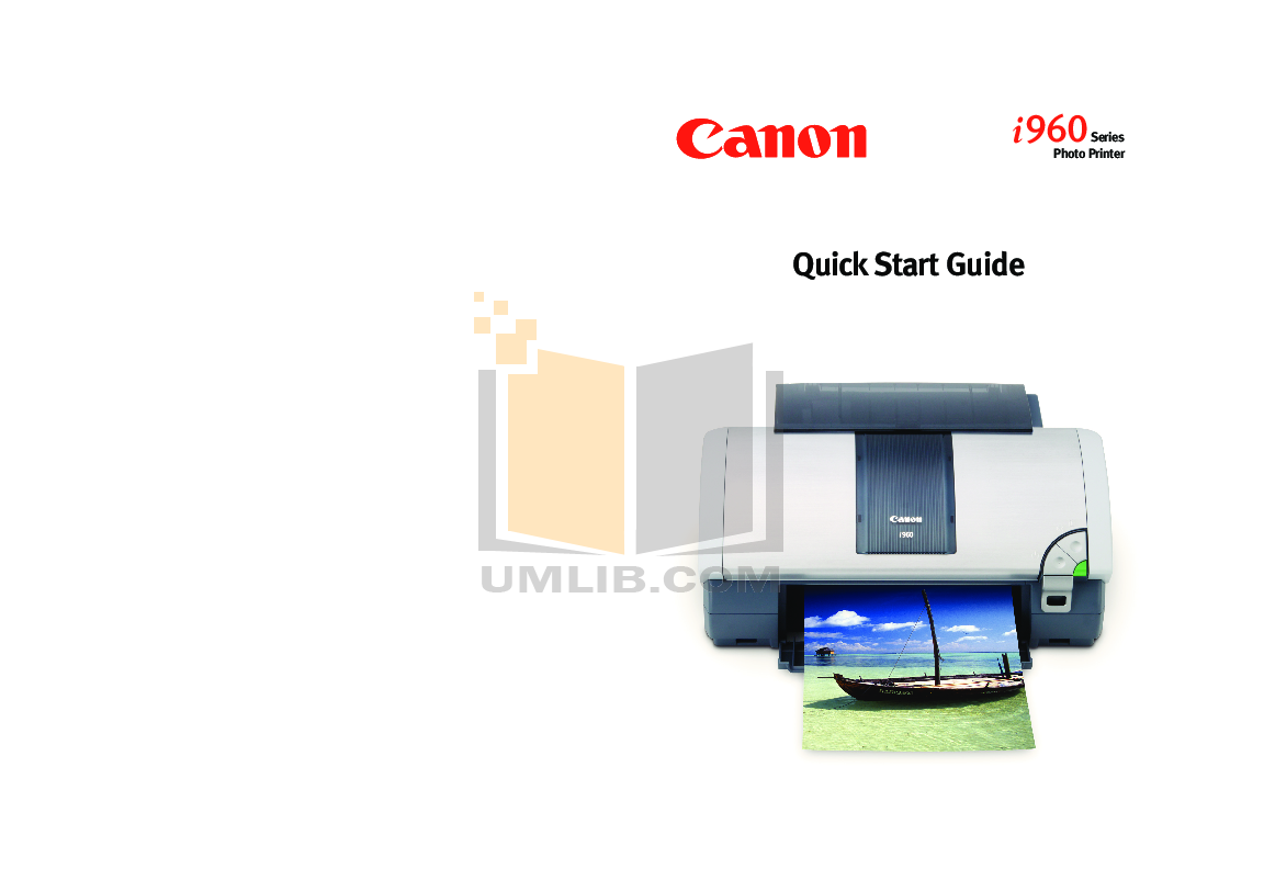 pdf for Canon Printer i960 manual