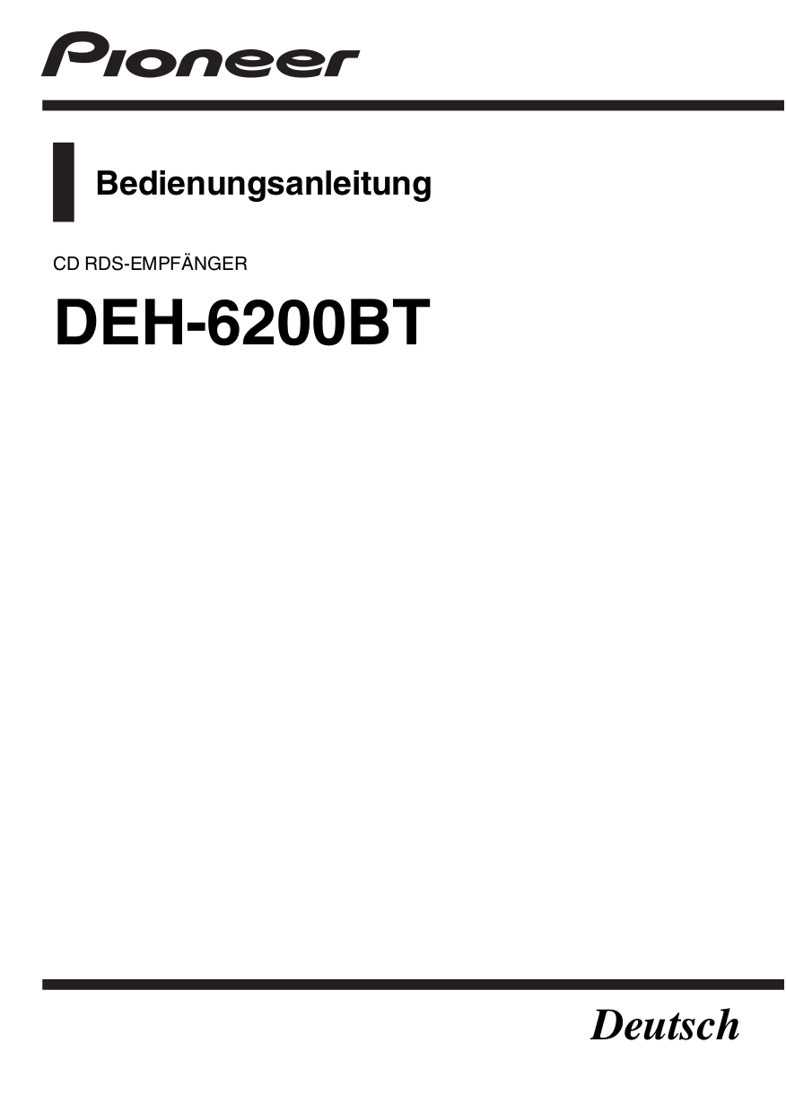 Pioneer Deh P6200bt Wiring Diagram Electrical Schematics 1200mp Manual Simple Instruction Guide Books U2022 Mvh P8200bt