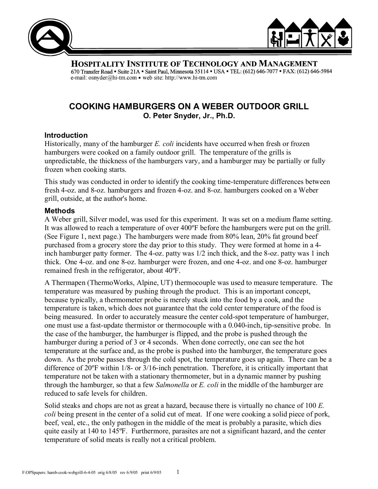 pdf for Weber Grill E-320 manual