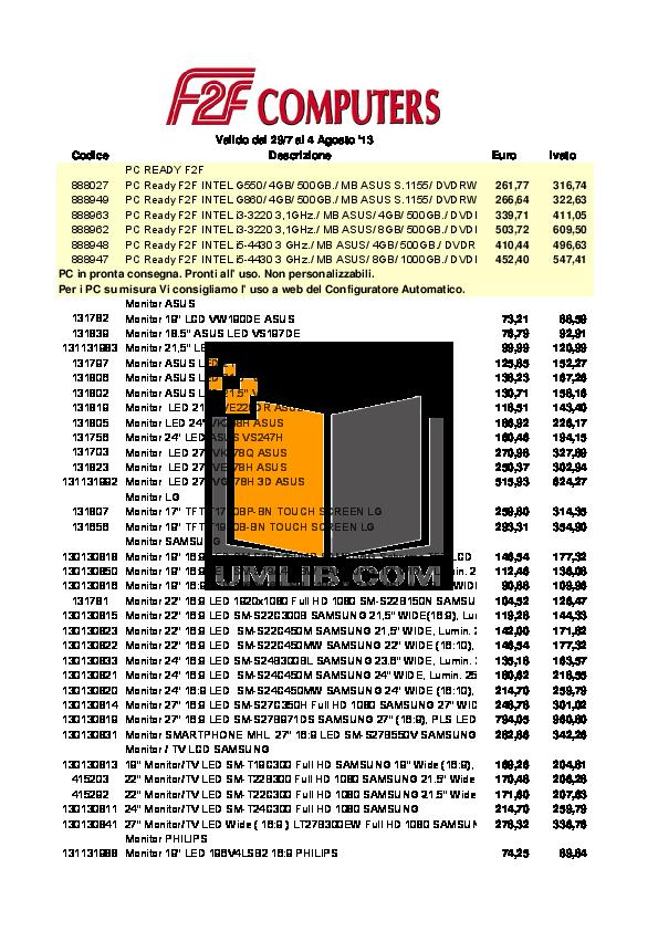 pdf for Asus Desktop ET2410IUTS manual
