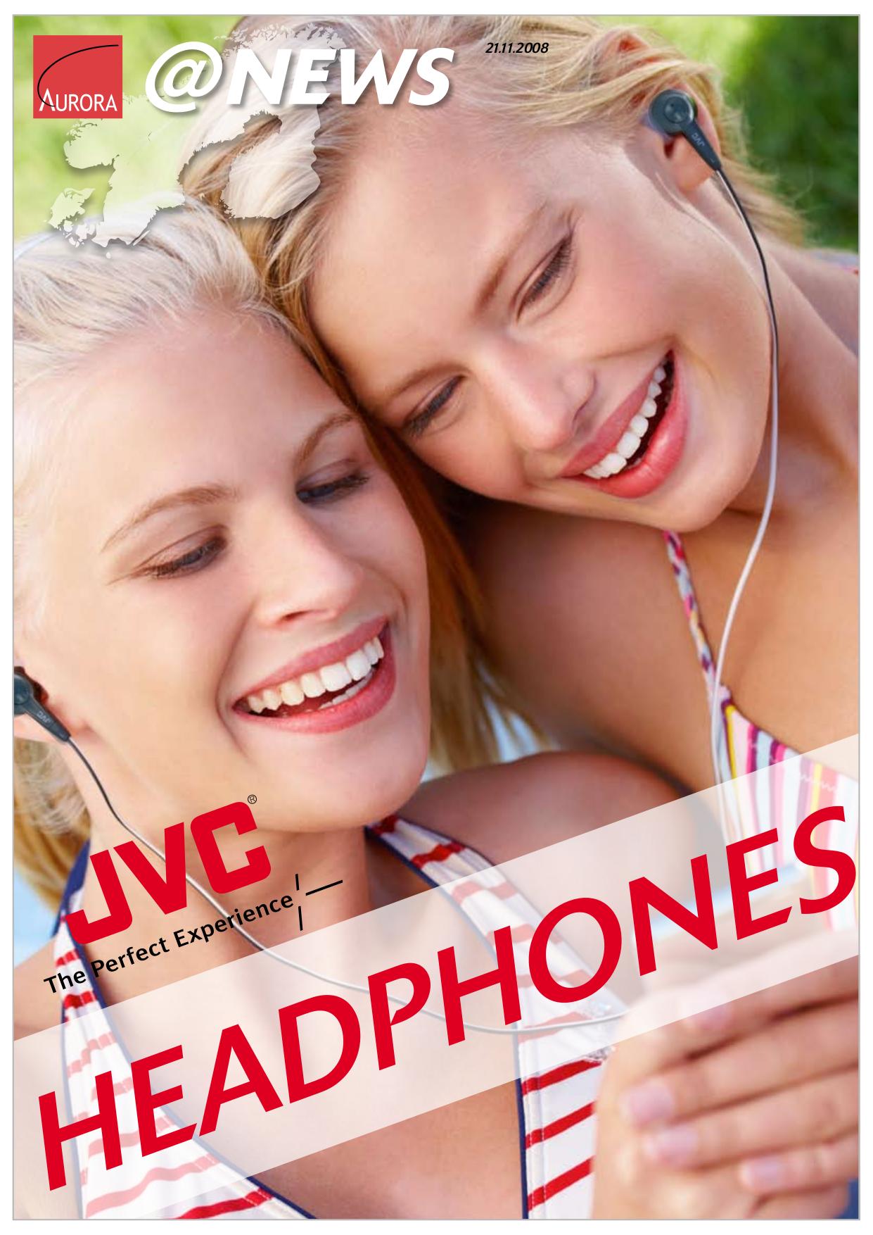 pdf for JVC Headphone HA-NCX77 manual