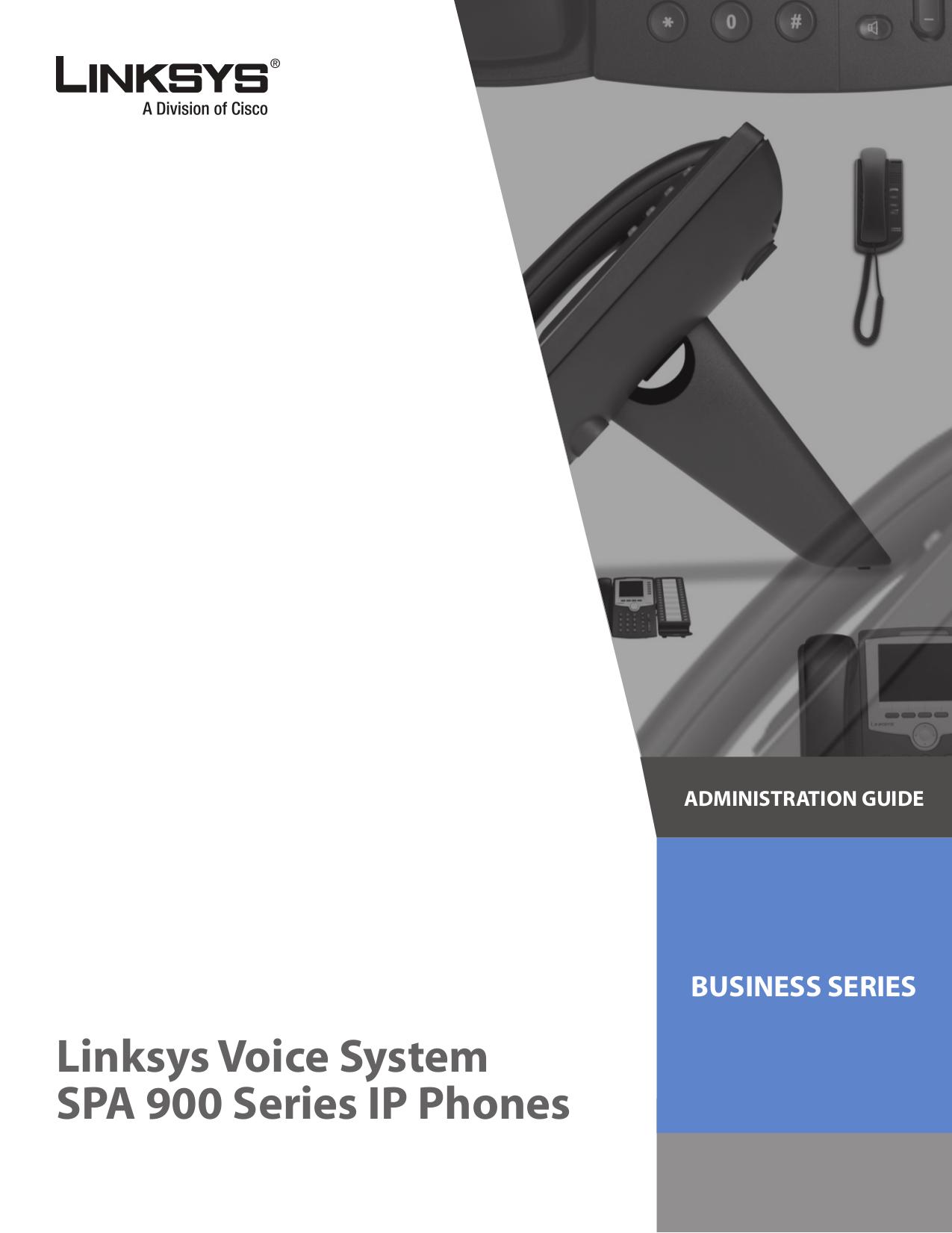 pdf for Linksys Telephone SPA932 manual