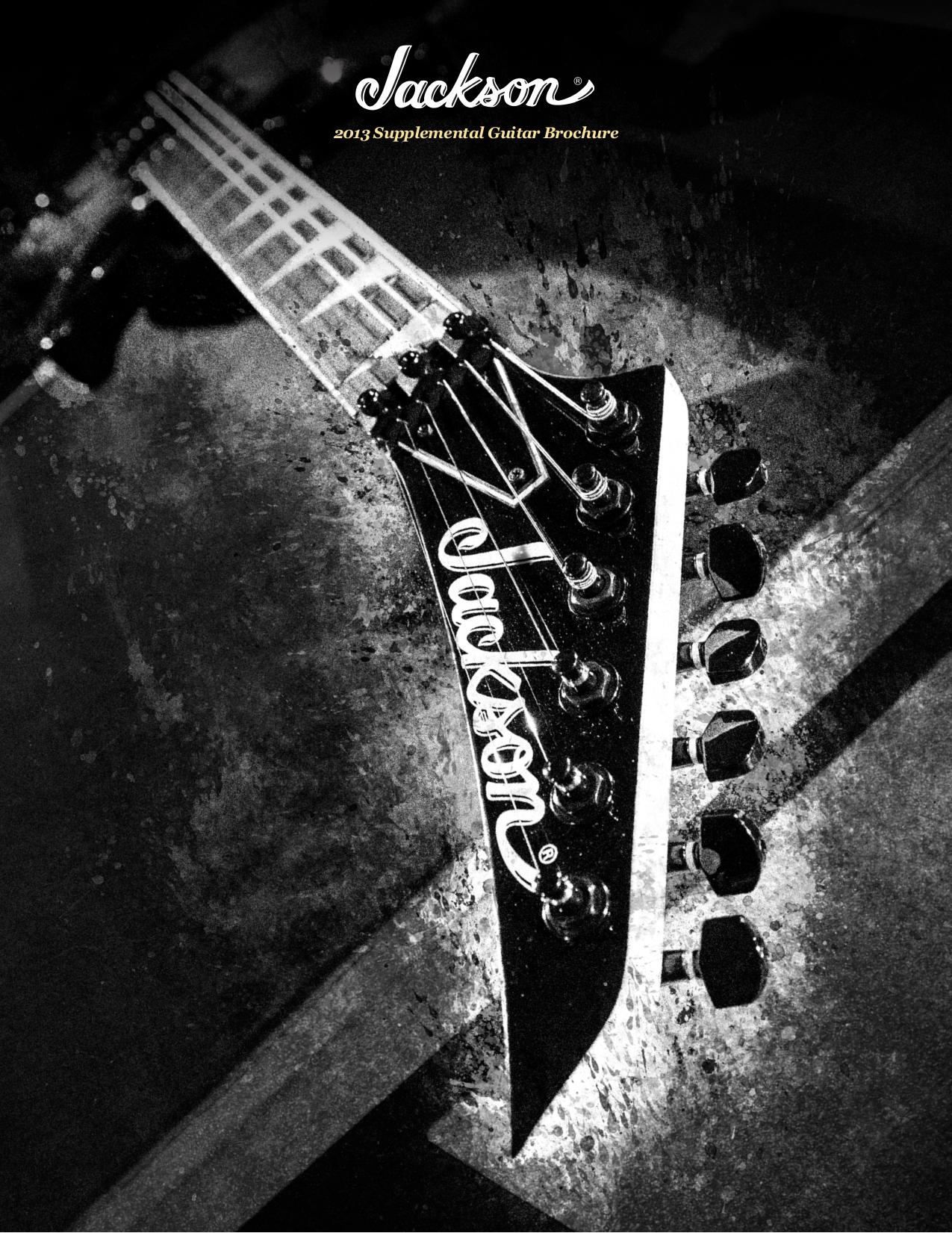 pdf for Jackson Guitar JS32T King V manual