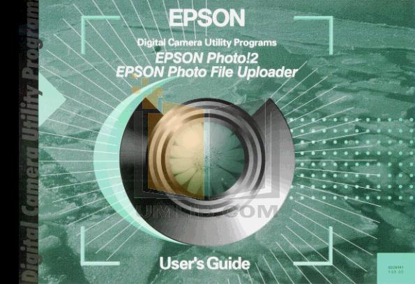 pdf for Epson Digital Camera PhotoPC 700 manual