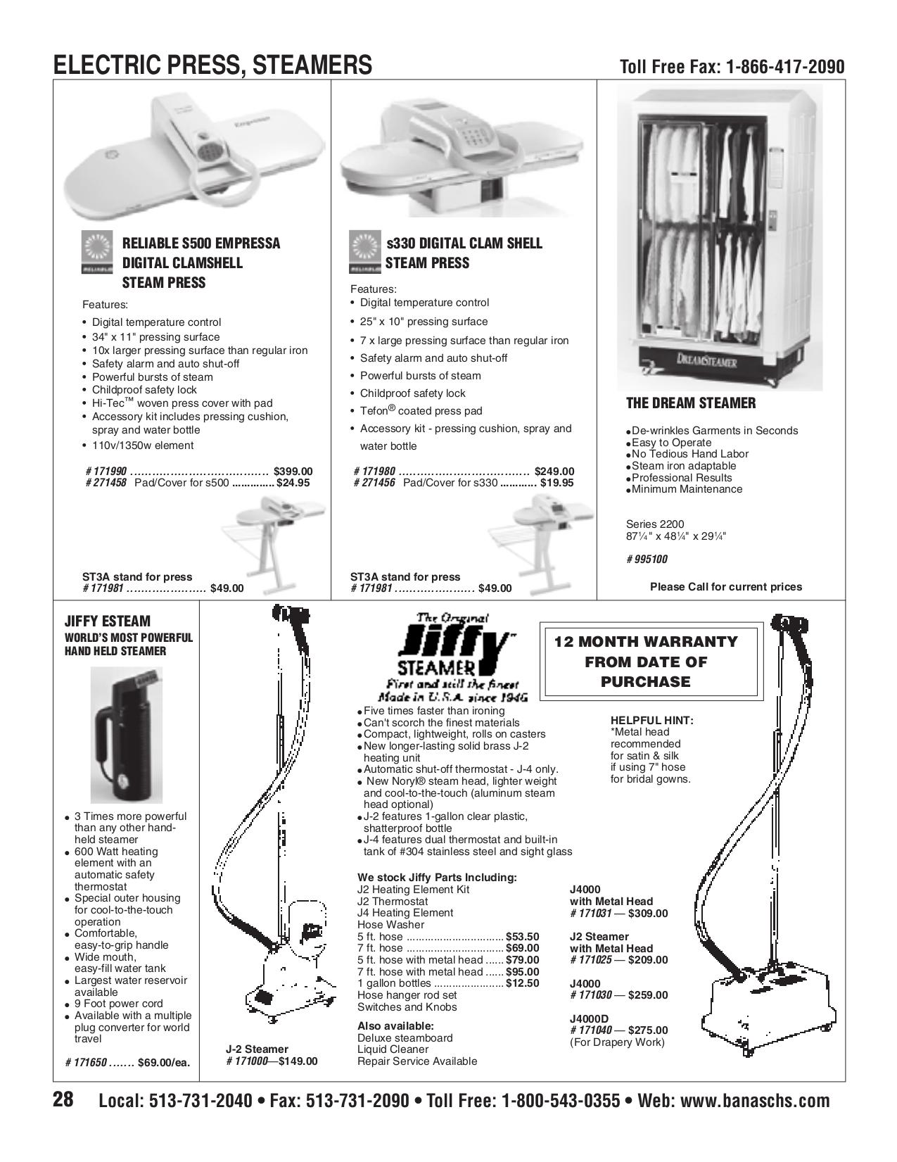 pdf for Jiffy Vacuum J-4000 manual