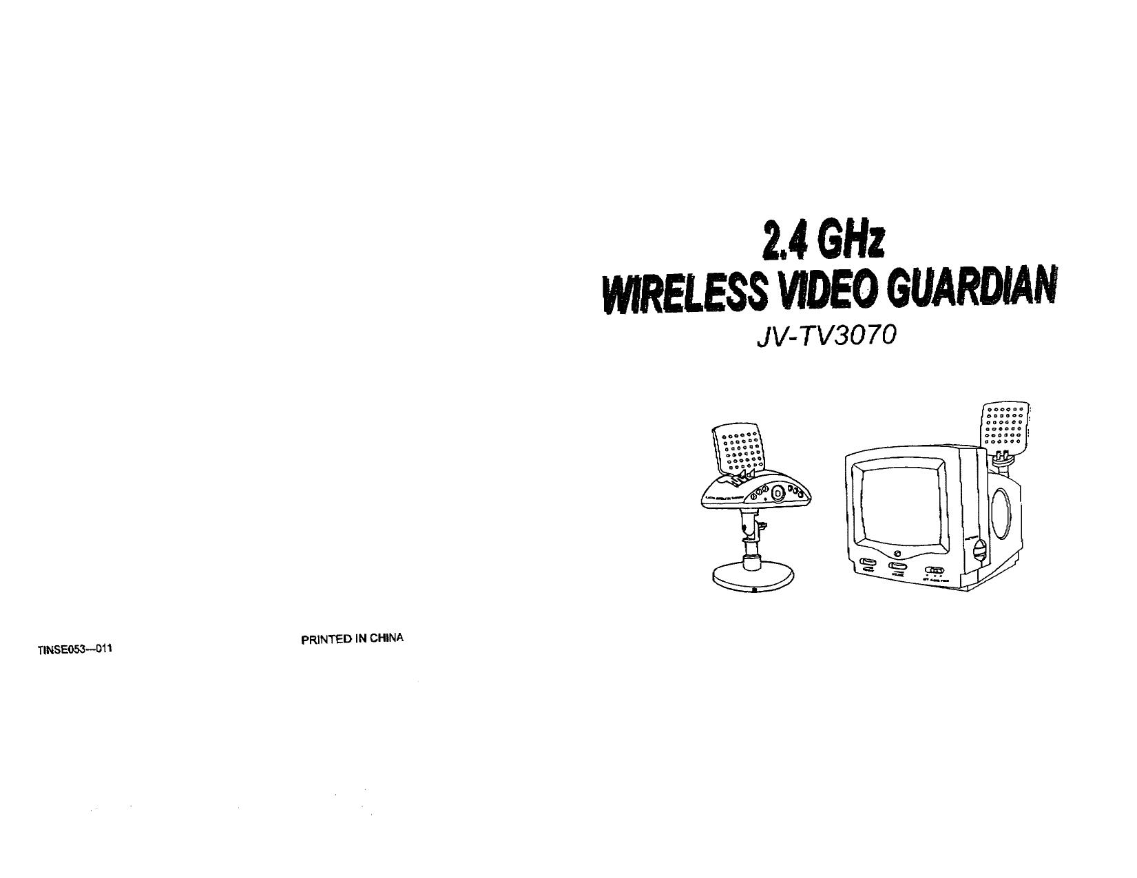 pdf for jWIN TV JV-TV3070 manual