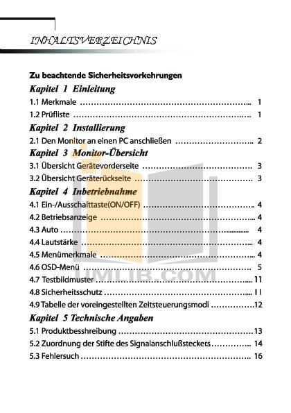 pdf for Acer Monitor AL732 manual