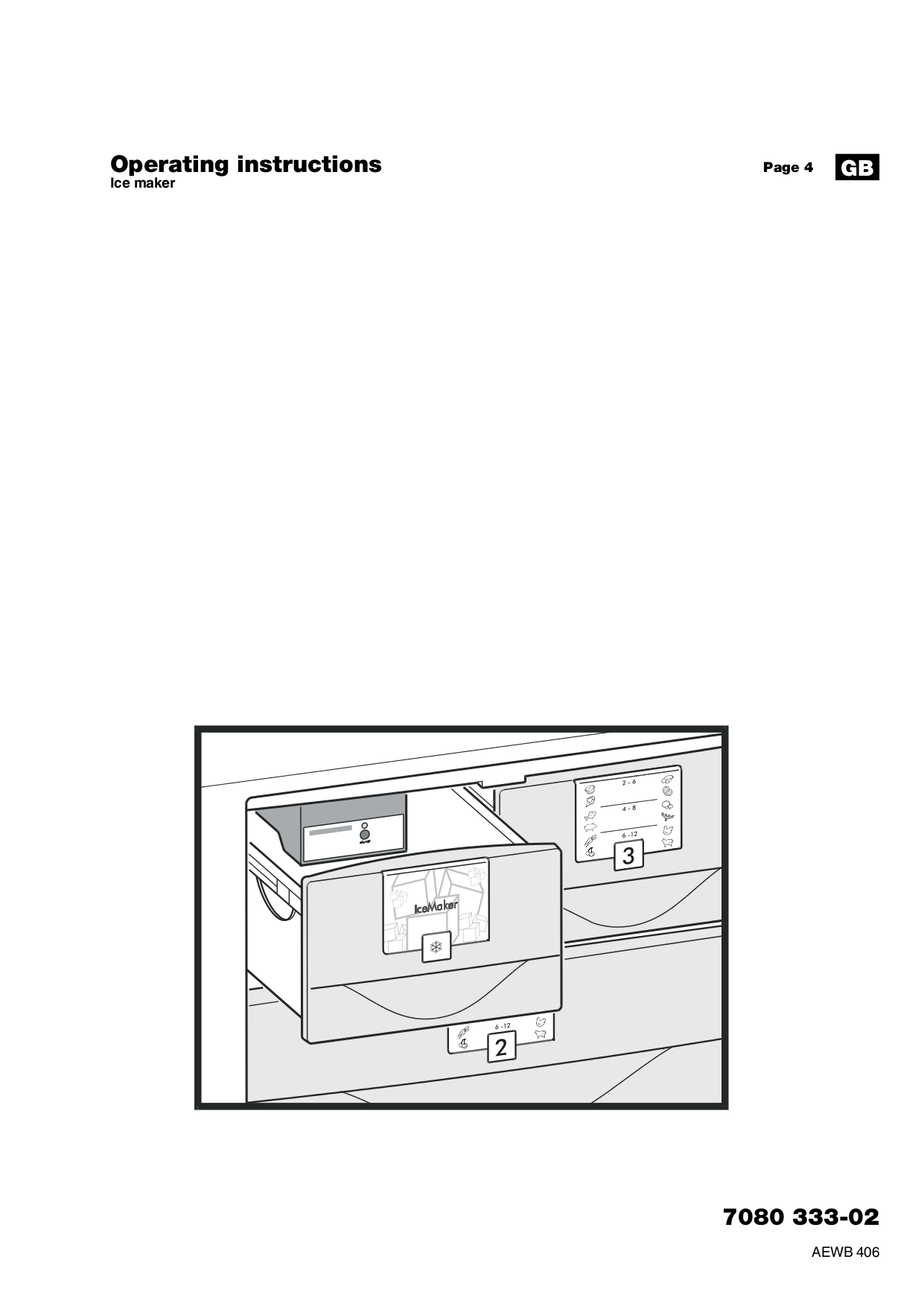 pdf for Liebherr Freezer F1051 manual