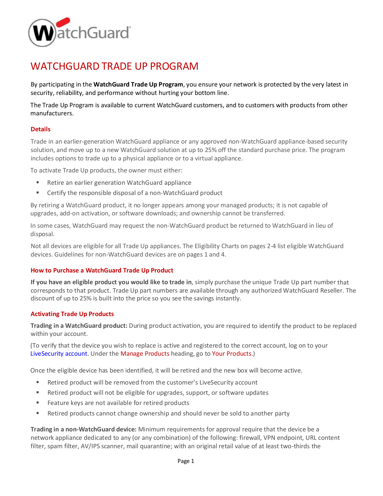 pdf for Watchguard Other Firebox V200 Firewall manual