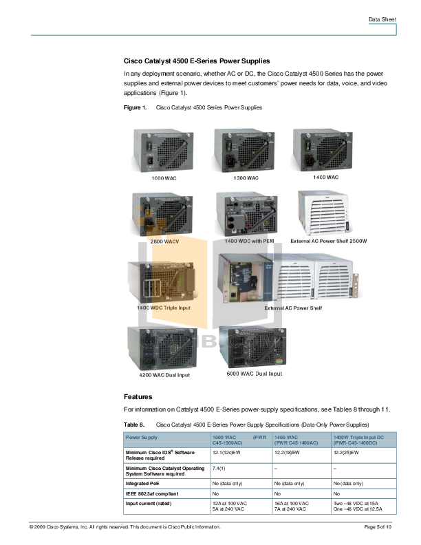 Cisco catalyst 4507r e-manual premium