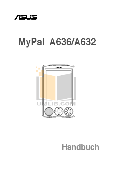 pdf for Asus PDA MyPal A636 manual