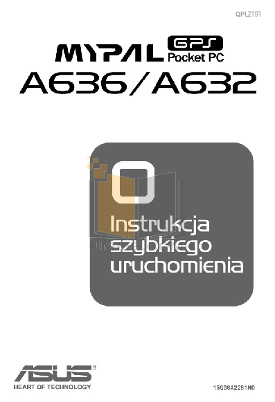 pdf for Asus PDA MyPal A632 manual