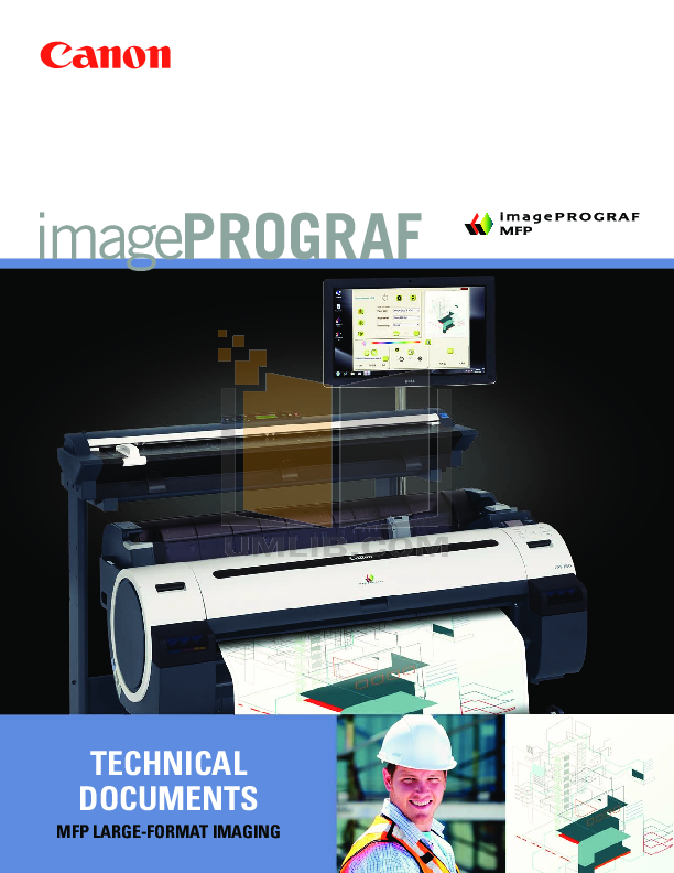pdf for Canon Printer imagePROGRAF iPF755 manual