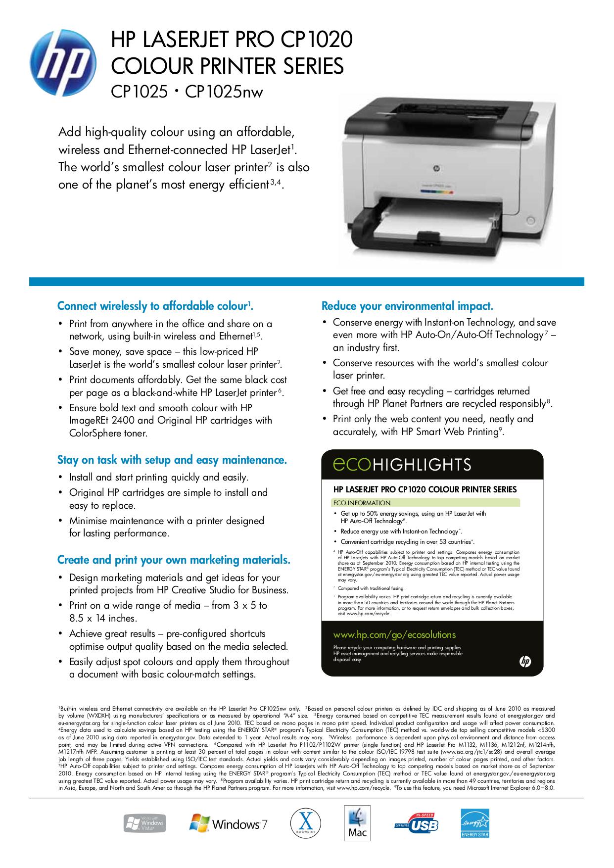 Hp 110 Plus Printer Manual
