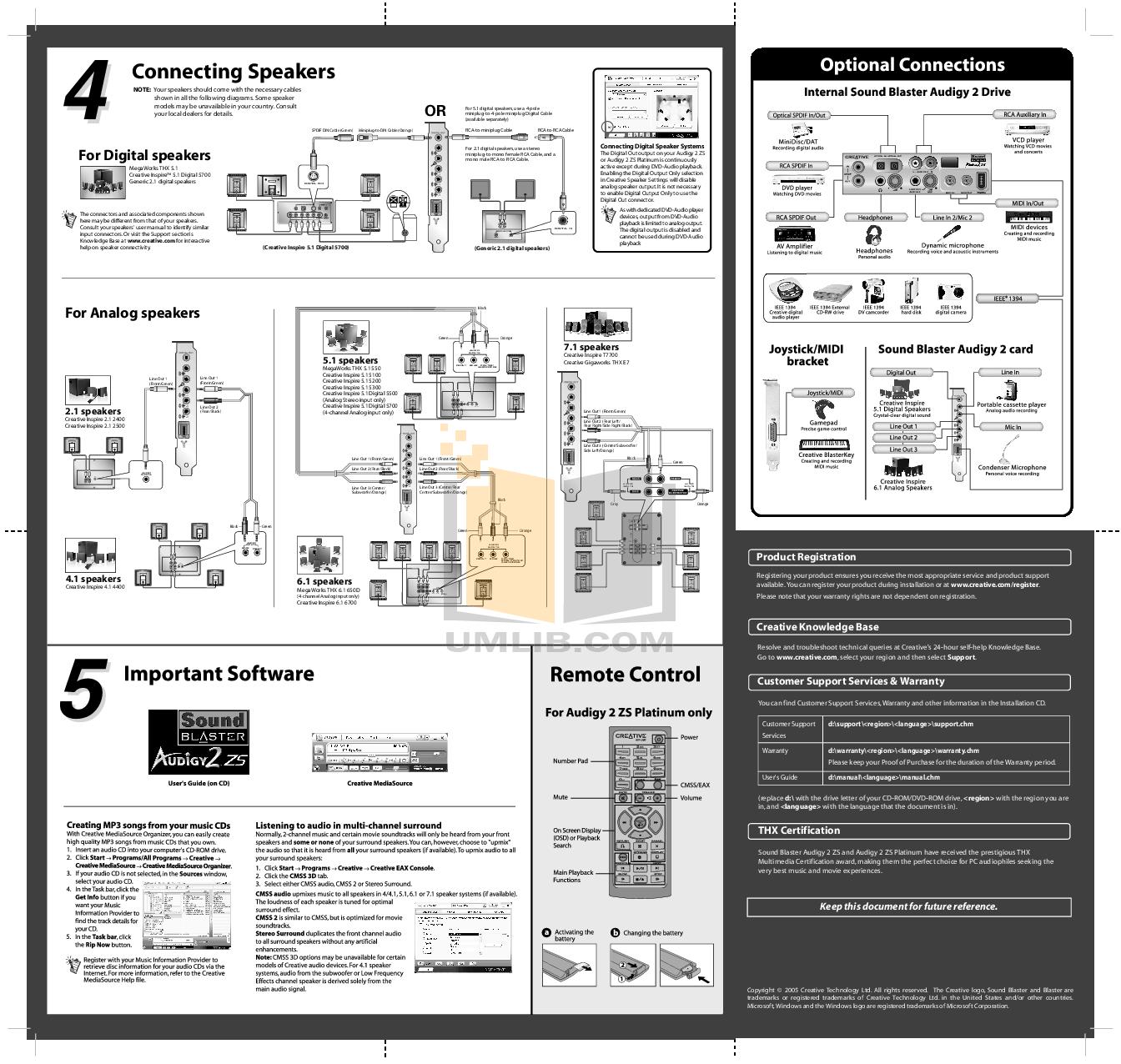 Creative Sb Connect Manual