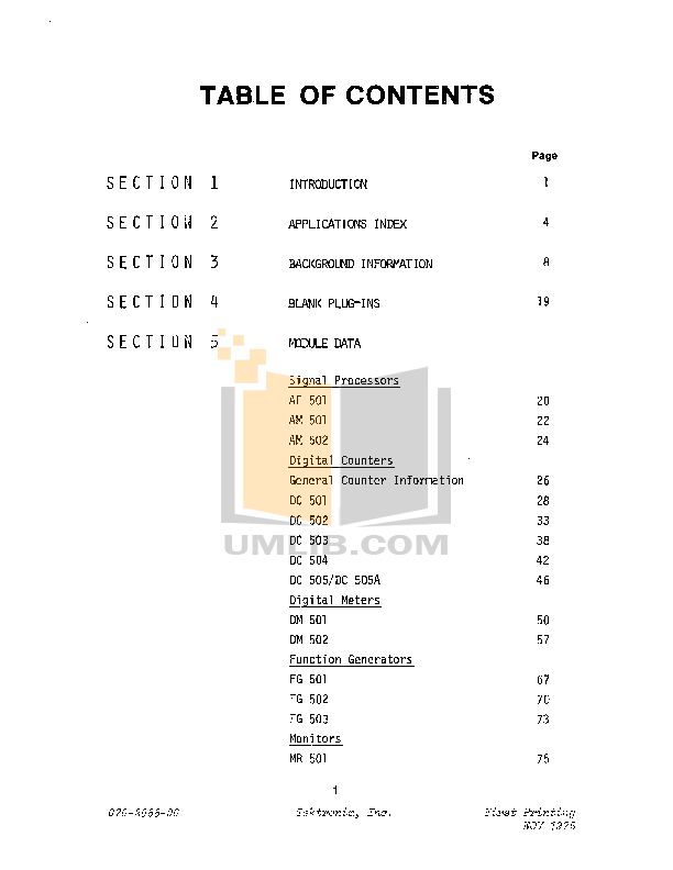 Acer Monitor AM501 pdf page preview