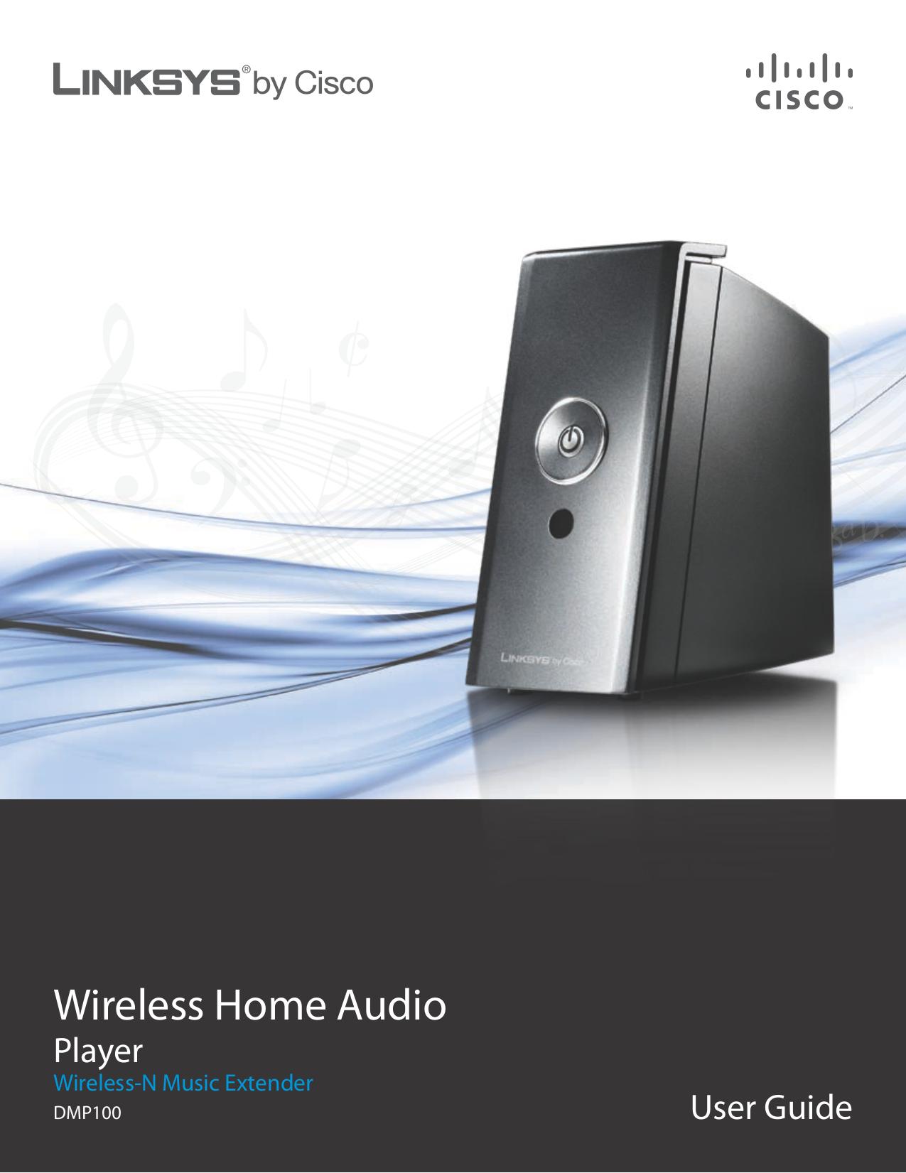 pdf for Linksys Speaker DMSPK50 manual